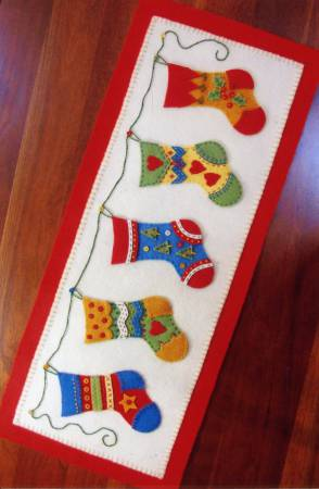 And The Stockings Were Hung Kit by Bird Brain Designs