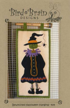 Bewitched Halloween Wall Hanging