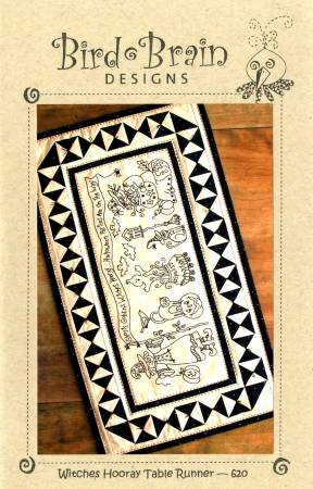 Witches Hooray Table Runner Pattern