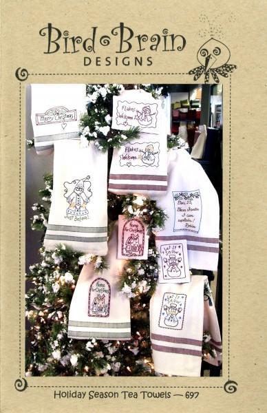 Holiday Seasons Tea Towels
