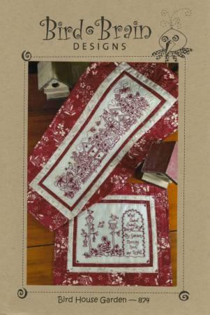 Bird House Garden Hand Embroidery