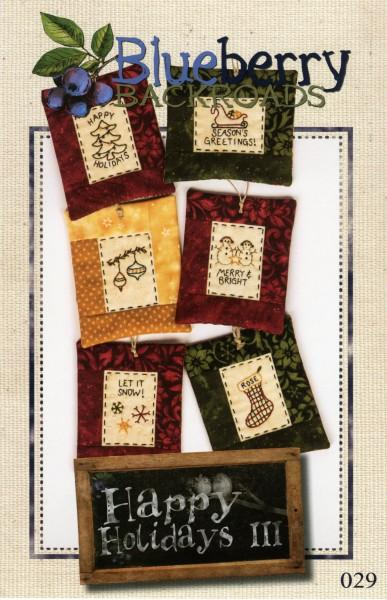 Happy Holidays 3 Pattern #029 by Blueberry Backroads^