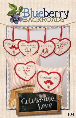 Celebrate Love pattern by Blueberry Backroads