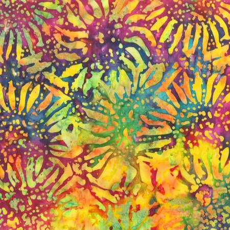 Be Colorful Sunflowers,  Batik