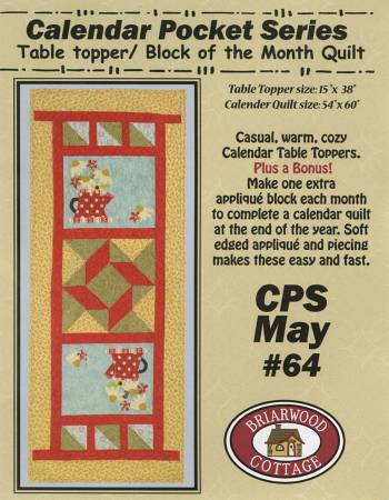 Calendar Pocket Quilt Series May