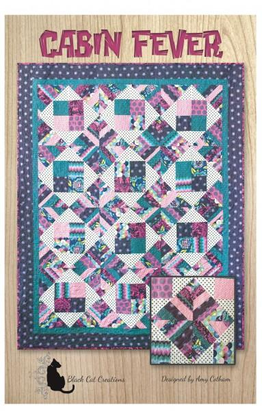 Cabin Fever Quilt Pattern Designed by Amy Cotham