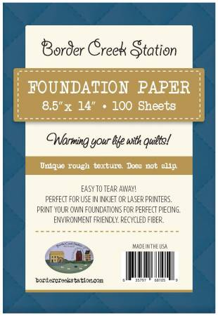 Foundation Paper 8-1/2in x 14in