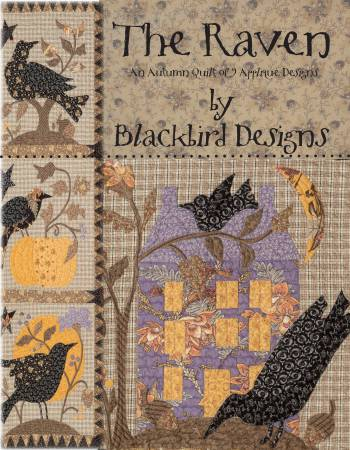 Raven - An Autumn Quilt of 9 Applique Designs - Softcover