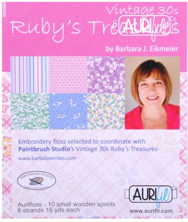 Vintage 30s Rubys Treasures Collection by Barbara Elkmeier
