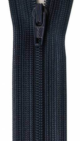 Beulon Polyester Coil Zipper 12in Navy