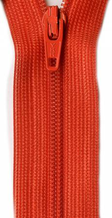 Beulon Polyester Coil Zipper 14in Orange