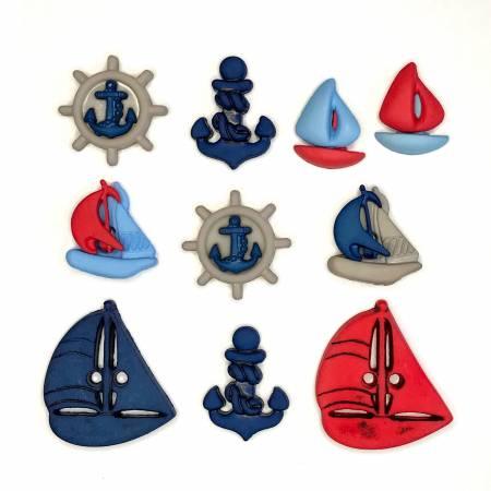Come Sail Away Theme Buttons