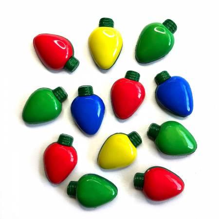 Christmas Lights Buttons