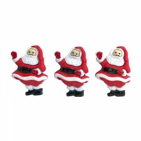Jolly Saint Nick Buttons 4823