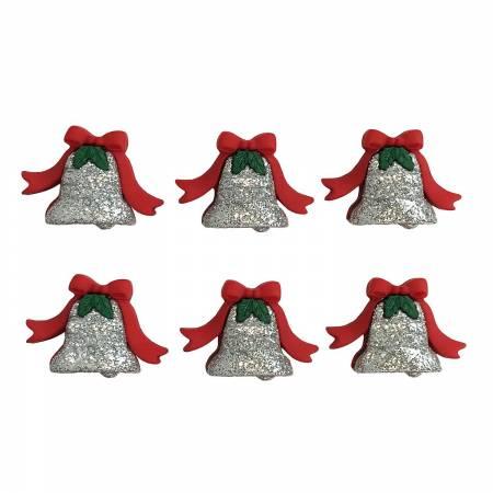 Silver Bells Buttons 4828
