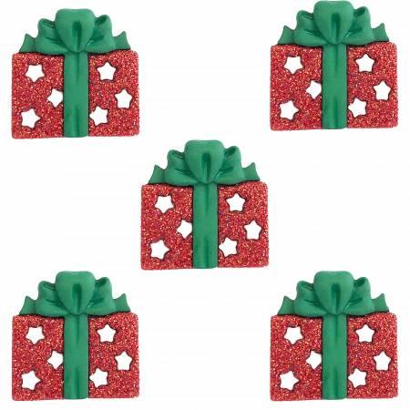 Glitter Gifts Buttons