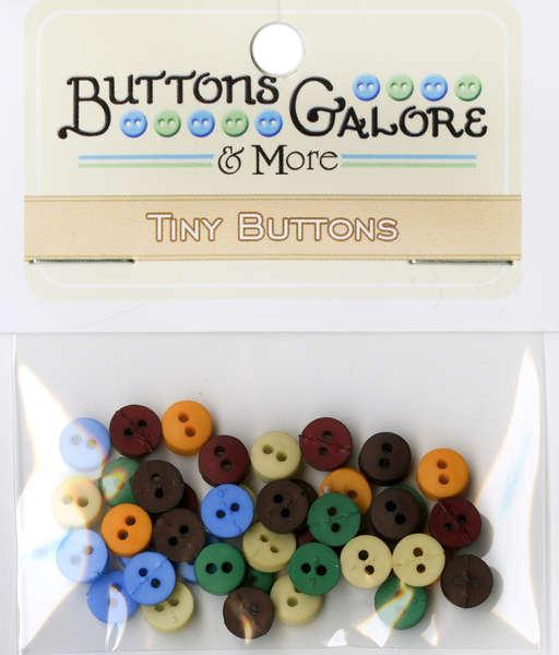 Tiny Round Buttons Southwest