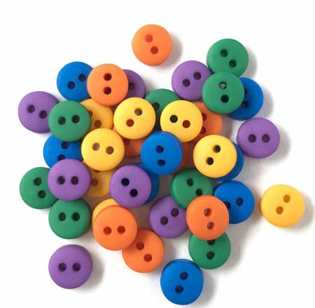 Tiny Round Buttons Gemstone