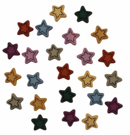 Button Bag Tiny Folk Stars