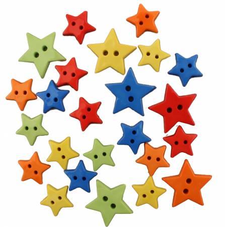 Stars Buttons Button Bag