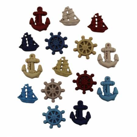 Ahoy Button Bag