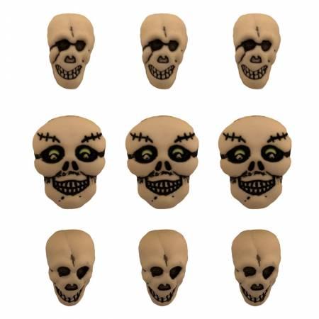Buttons - Skulls