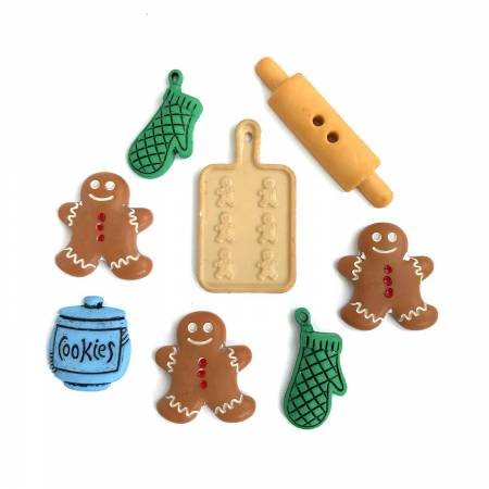 Buttons - Holiday Baking