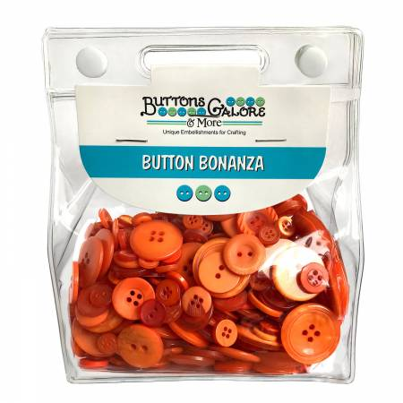 Button Grab Bag Bonanza - Orange