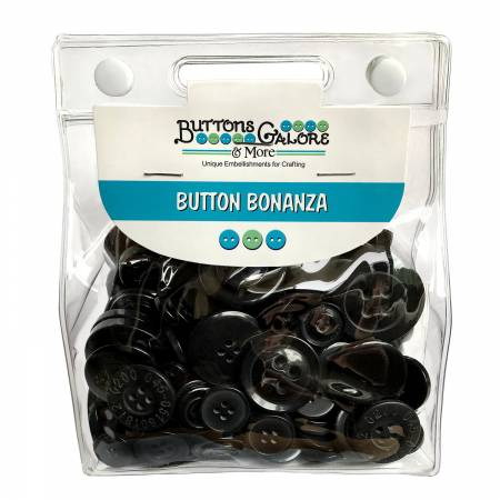 Button Grab Bag Bonanza Black