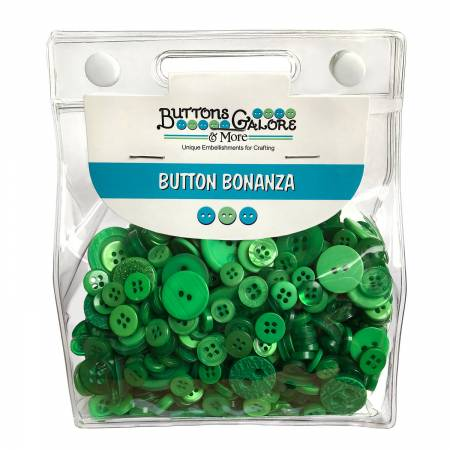 Button Grab Bag Bonanza - Green
