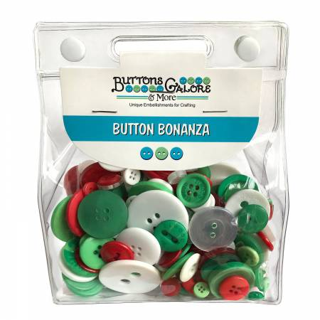 Button Grab Bag Bonanza - Christmas