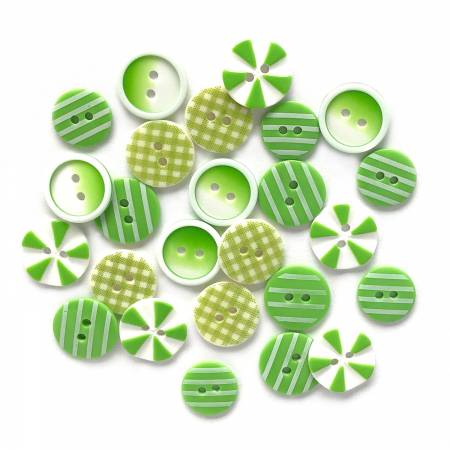BUTTONS GALORE Lime Lite