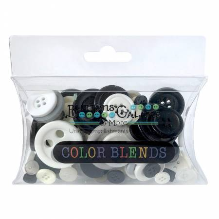 Color Blend Collection Button Cookies and Cream