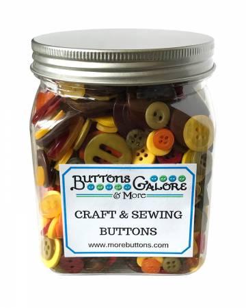 Autumn Cookie Jar Buttons *