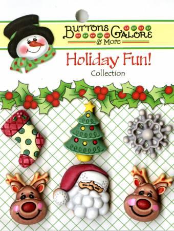 Buttons - Reindeer Games