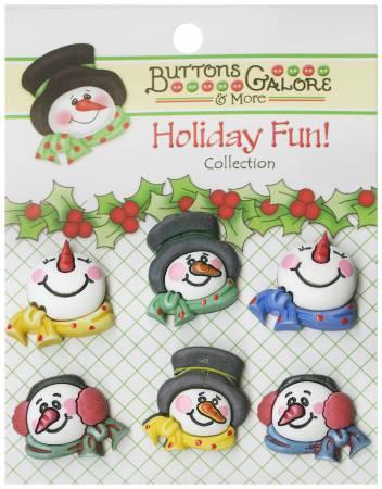 Buttons - Snowmen