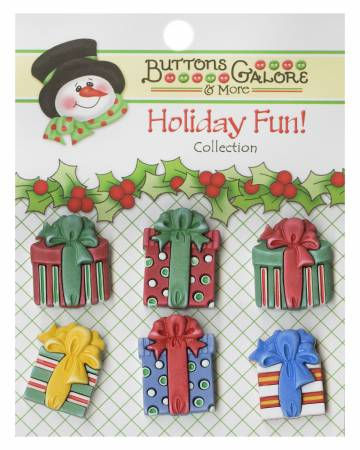 Buttons - Christmas Presents