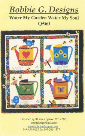 Water My Garden quilt pattern