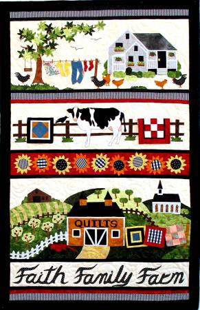 Faith Family Farm Quilt