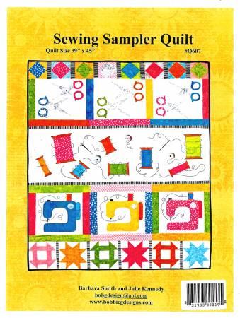 Sewing Sampler Quilt