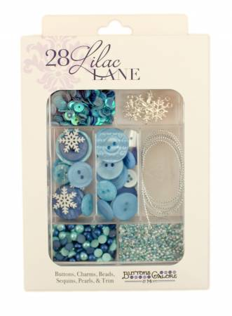 Embellishment Kit Let It Snow