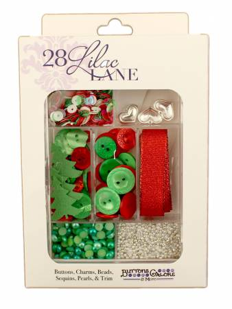 Embellishment Kit Holly Jolly