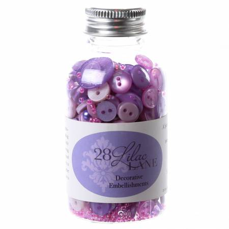 Embellishment Bottle On Lilac Lane