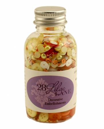 Embellishment Bottle Candy Corn