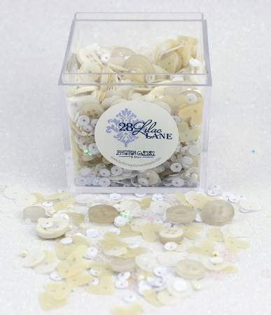 Pearls & Lace Shaker Mix