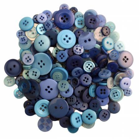 Open Seas Buttons in Mason Jar