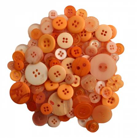 Sweet Mango Buttons in Mason Jar