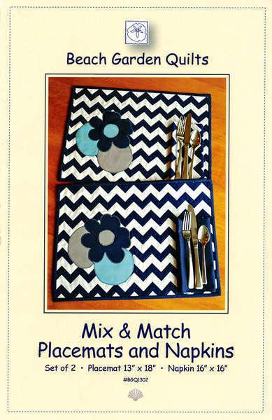 Beach Garden Mix & Match Placemats *20