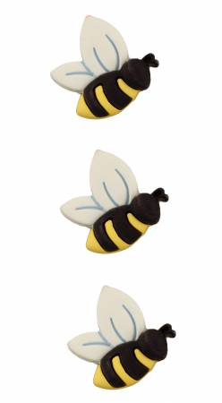 Spring Fling Bees Buttons