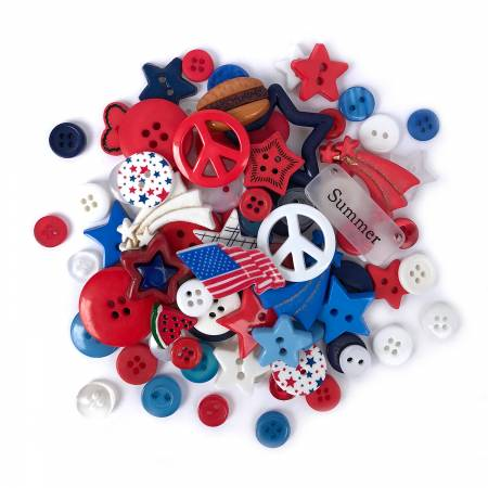 Patriotic Value Pack Buttons